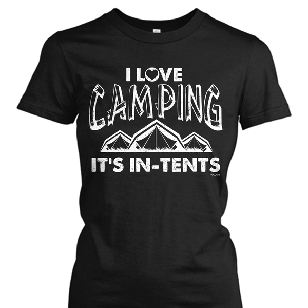 I'm a Campin' Kinda Girl Shirt