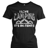 I Love Camping It's In-Tents Shirt