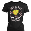 She Stole My Heart Like She Stole Your Base Shirt