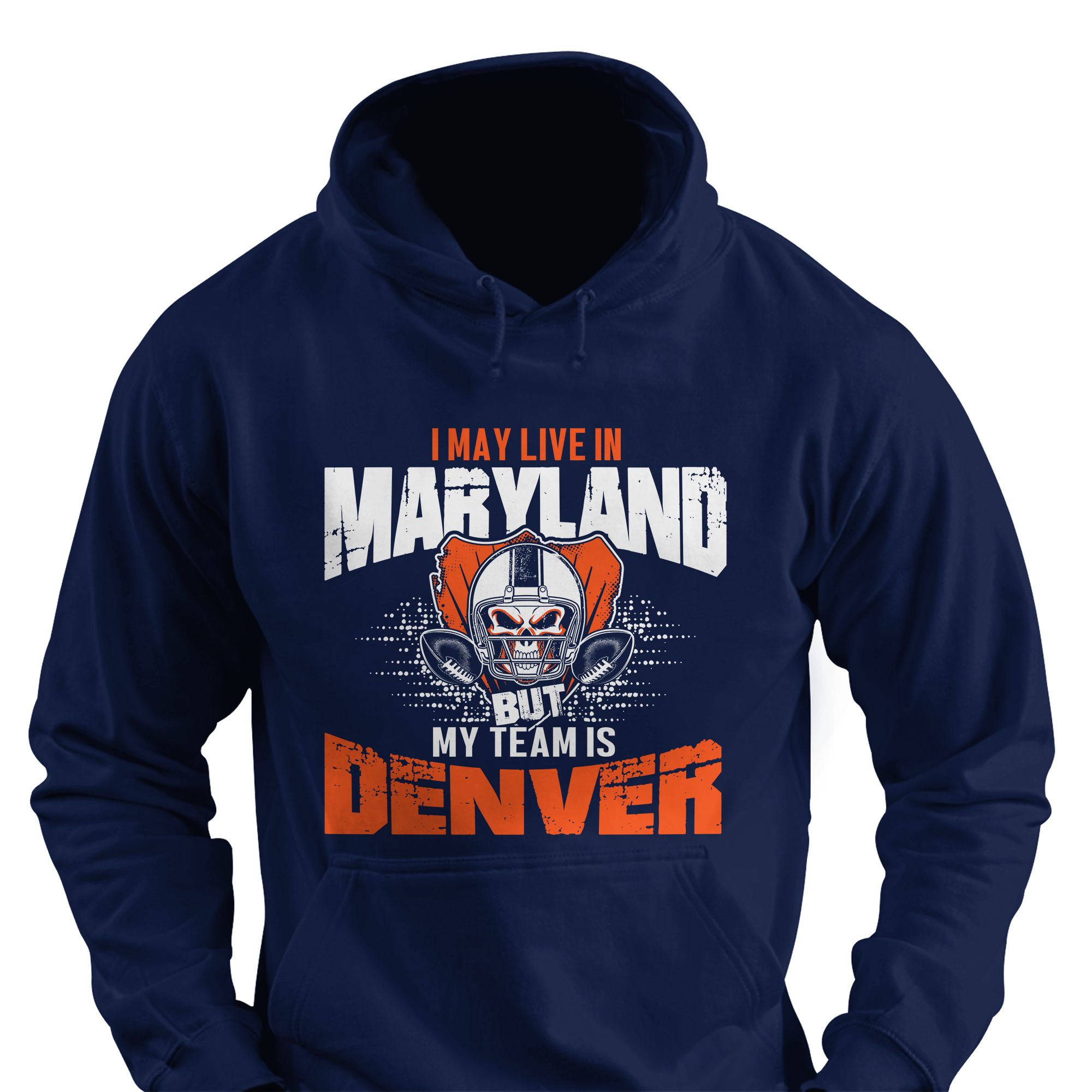 I May Live in Maryland but My Team is Denver