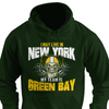 I May Live in New York but My Team is Green Bay