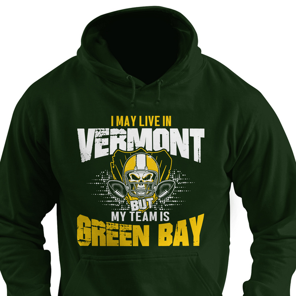I may be in California but my team's Green Bay