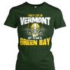 I May Live in Vermont but My Team is Green Bay