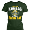 I May Live in Kansas but My Team is Green Bay