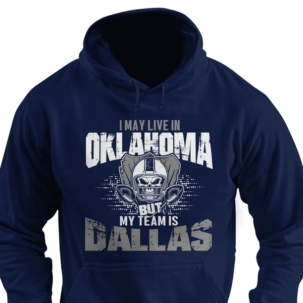 I may live in Kansas but my team is Dallas