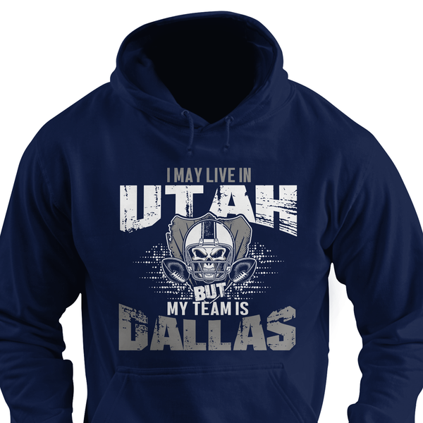 I may live in North Dakota but my team is Dallas