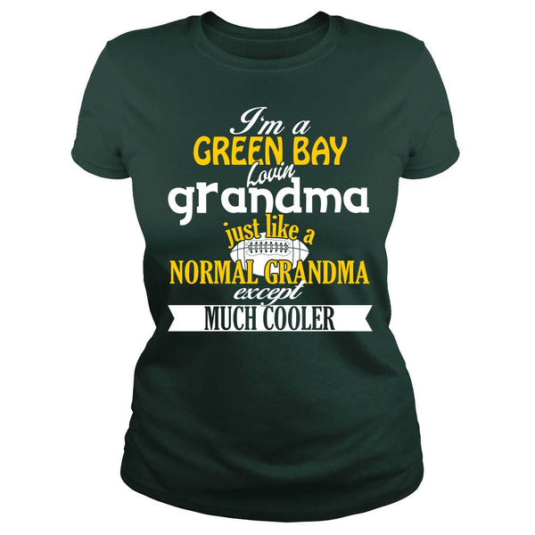 Cool Green Bay Football Grandma