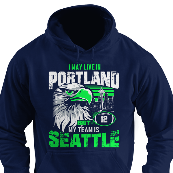 I may be in California but my team's Seattle