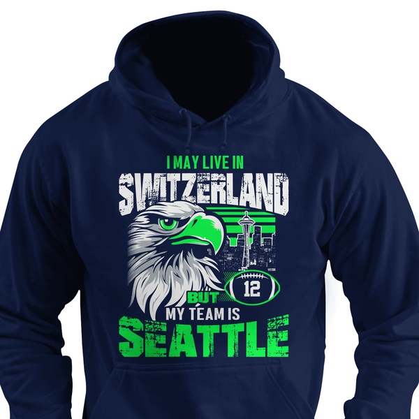 I may live in Wyoming but my team is Seattle