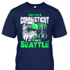 I may live in Connecticut but my team is Seattle