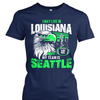 I may live in Louisiana but my team is Seattle