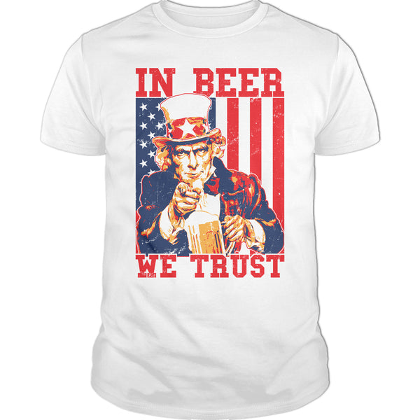 Blood Type Beer (Mug) Premium Cotton Shirt