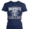 I may live in Massachusetts but my team is Dallas