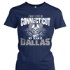 I may live in Connecticut but my team is Dallas
