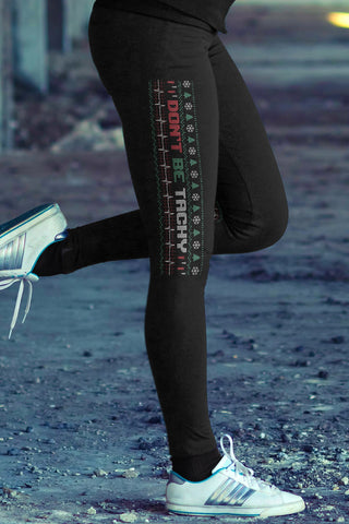 Christmas Make Christmas Great Again Cotton Leggings