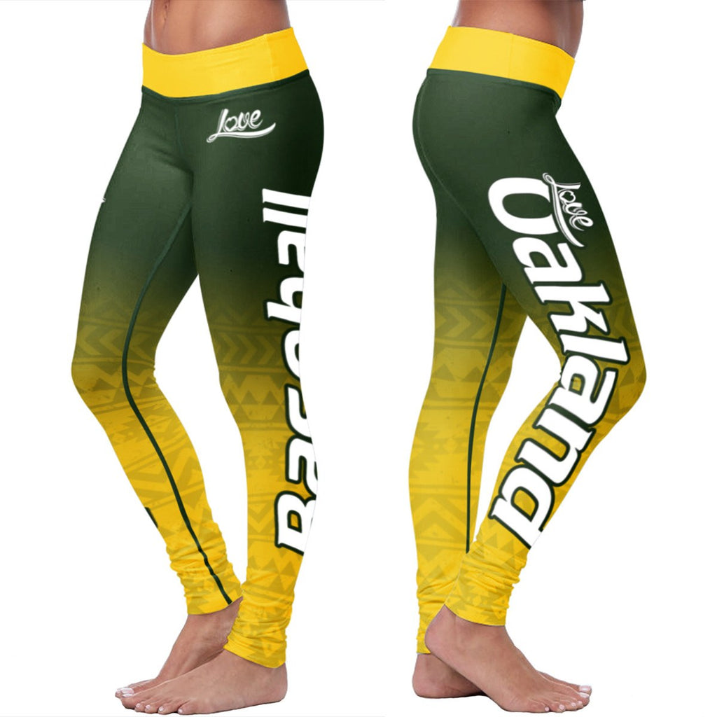 Love Leggings - Oakland Baseball