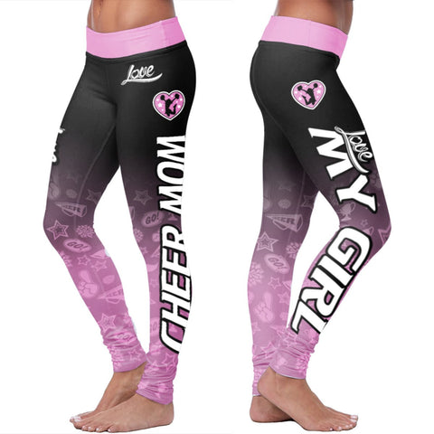 Love Leggings - Cheer Mom
