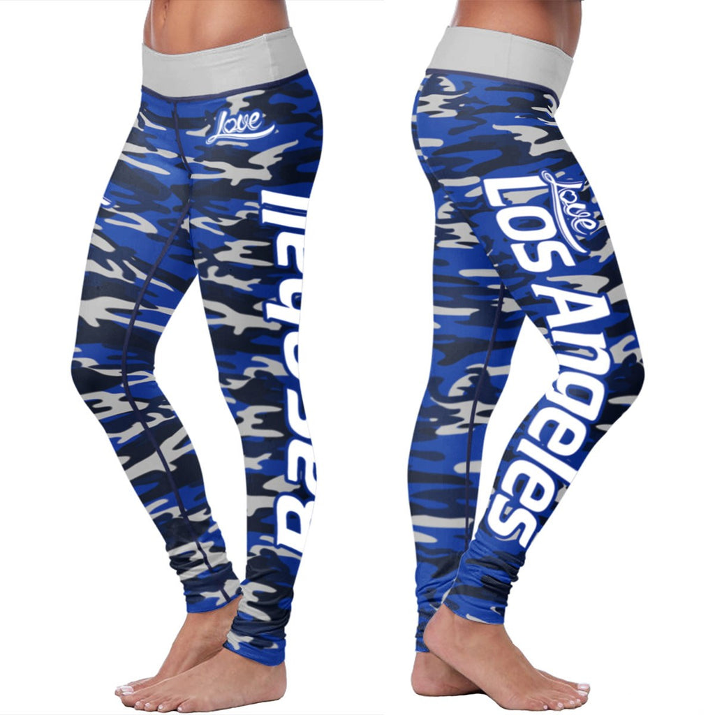 Love Leggings Camo - Los Angeles Baseball
