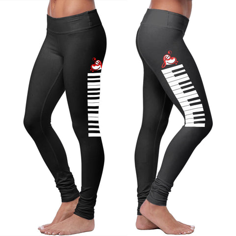 Cotton Leggings - Piano Keys