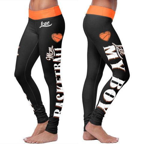 Love Leggings - Basketball Mom