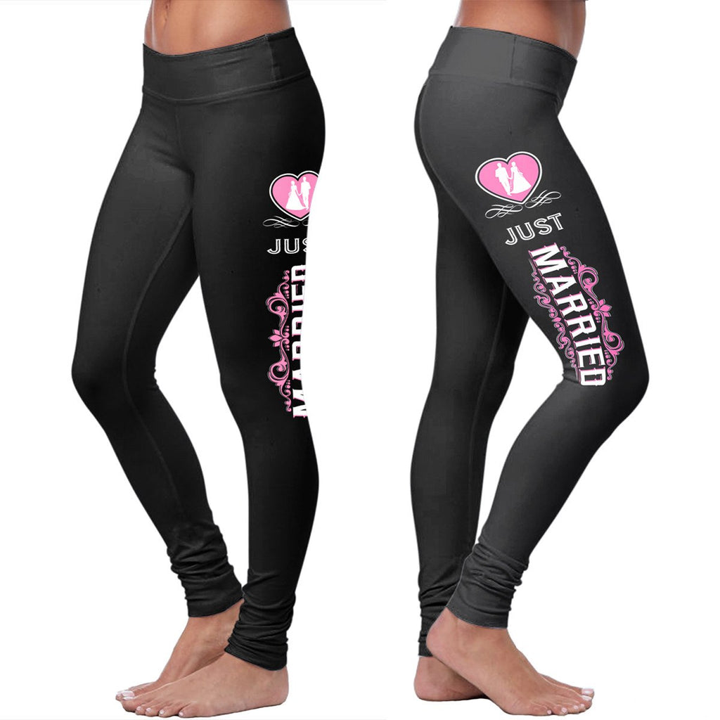 Cotton Leggings - Just Married