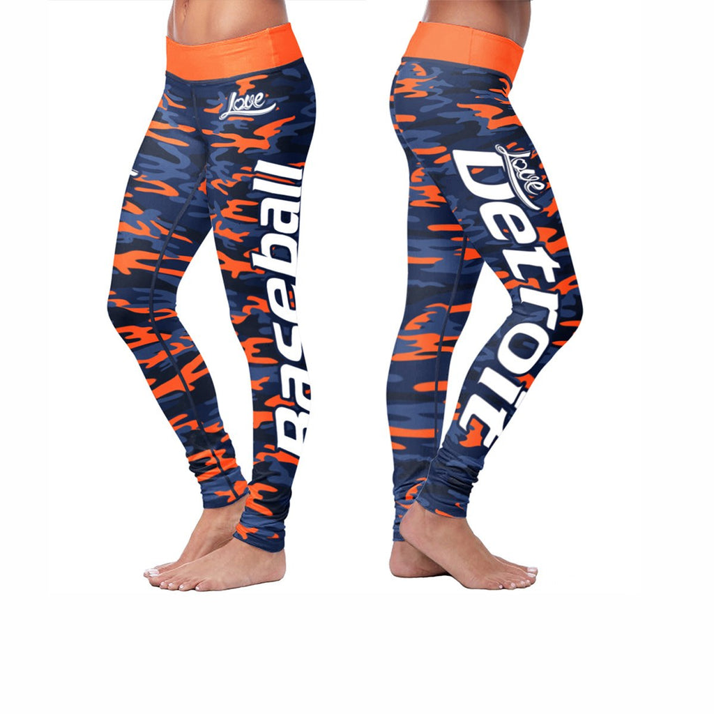 Love Leggings Camo - Detroit Baseball