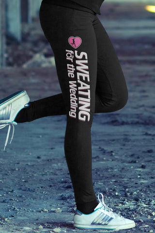 Sweating for the Wedding Cotton Leggings Yoga Pants