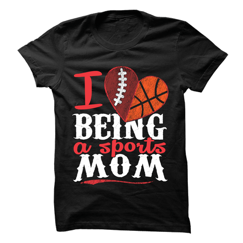 Sports Mom - Football and Volleyball