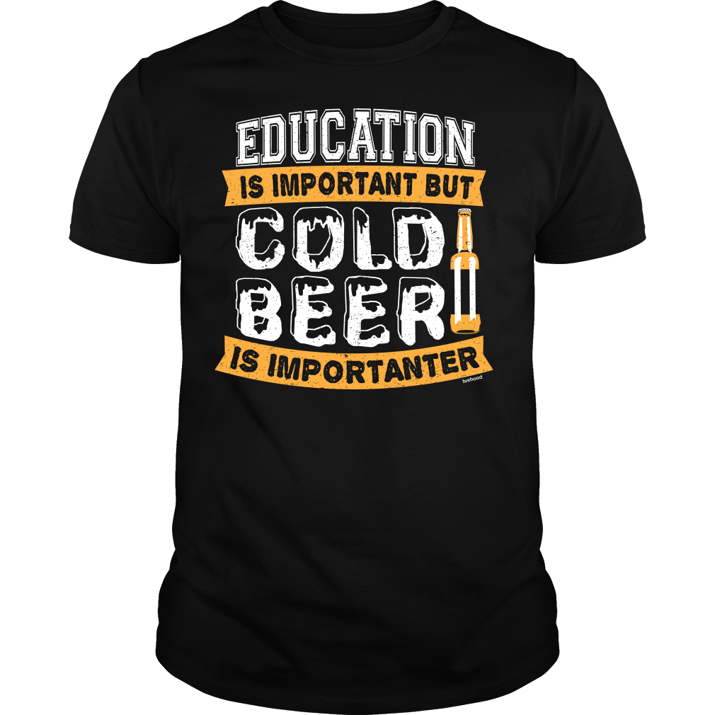 Beer and Education Tee
