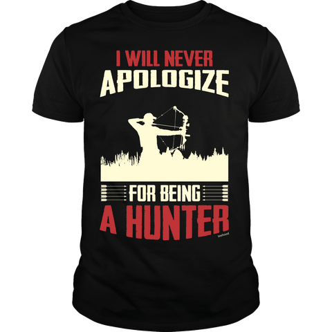 Hunter - Never Apologize Bow Tee