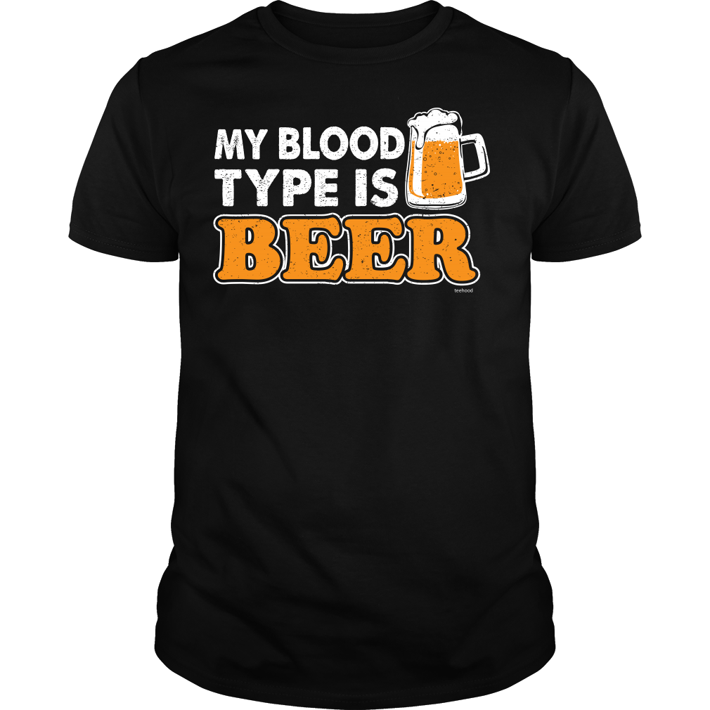 Beer Blood Type B Tee