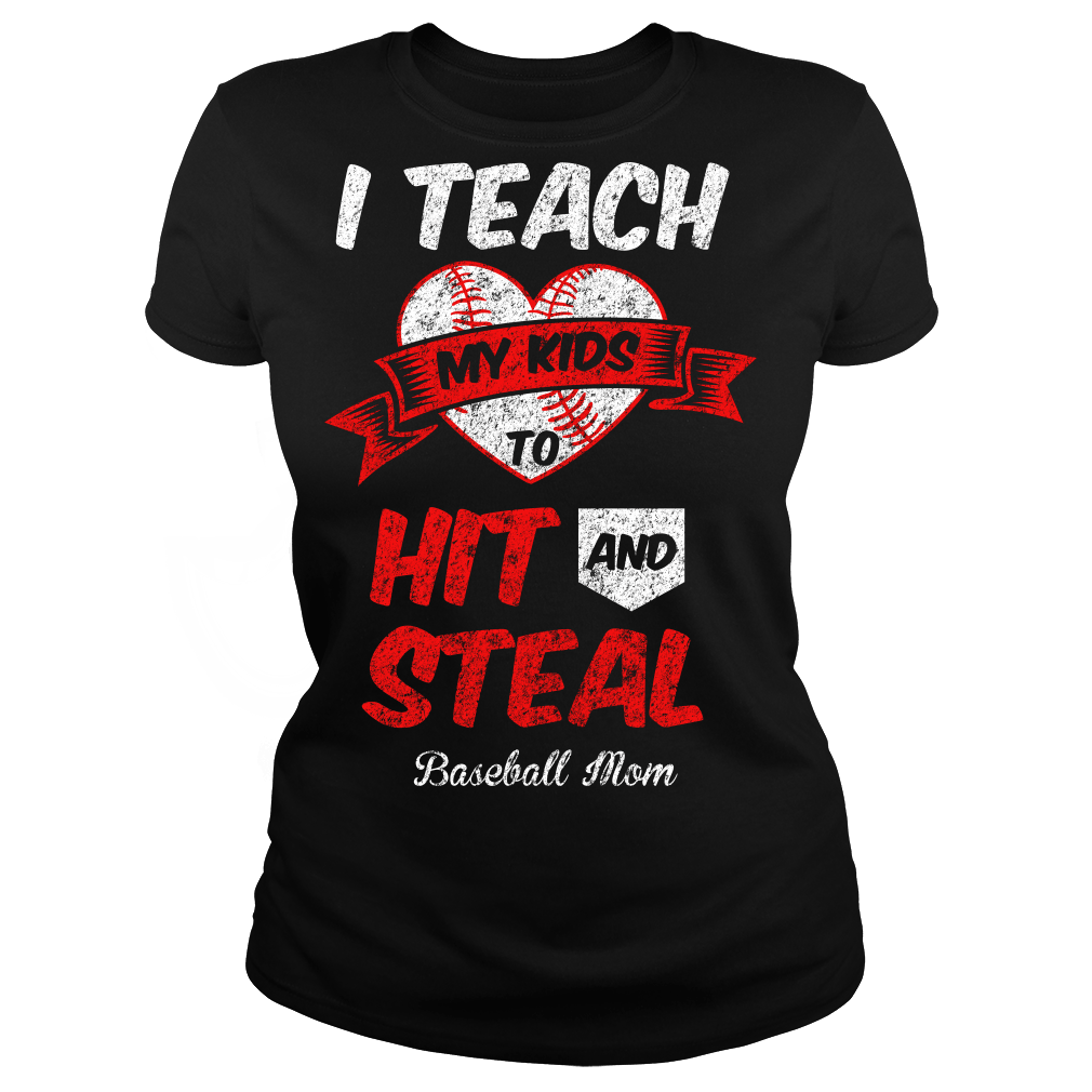 Hit and Steal - Baseball Mom