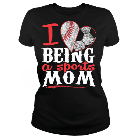 Sports Mom - Baseball and Basketball