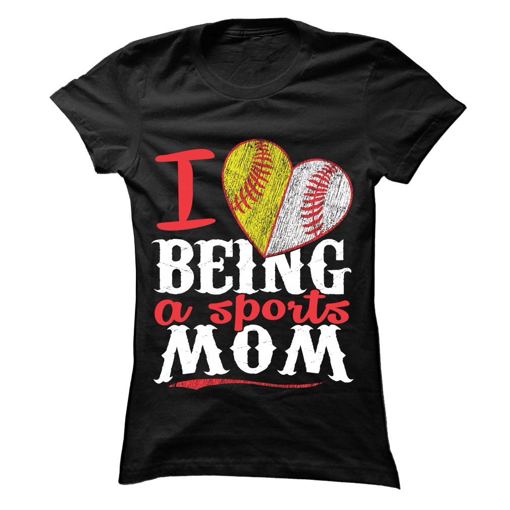 Sports Mom - Softball and Baseball