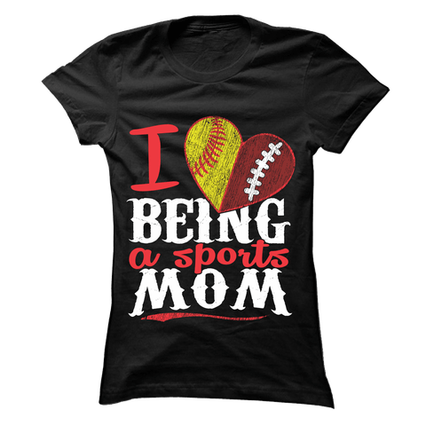 Sports Mom - Softball and Volleyball