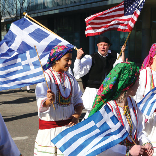 Yesterday's Greek Parade