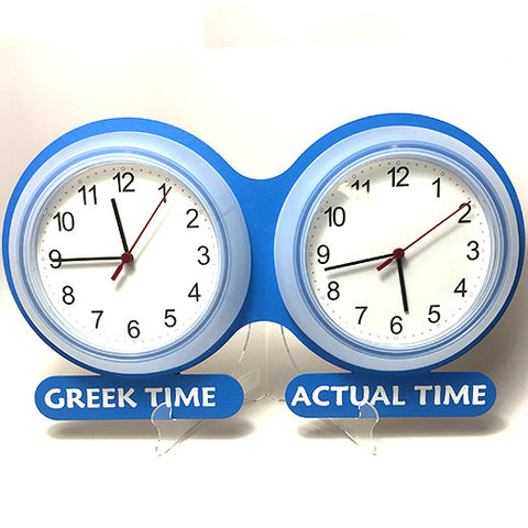 Greek-time Clocks