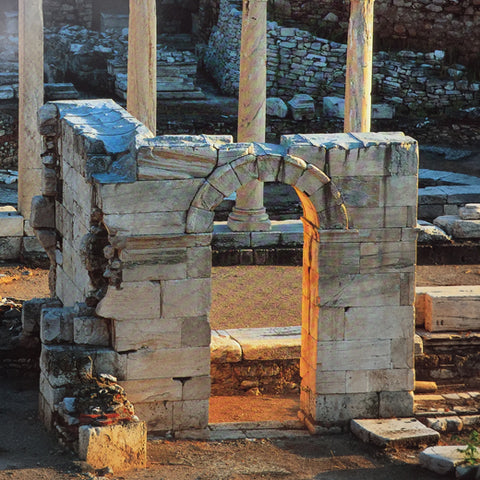 Ruins shown in Athens book
