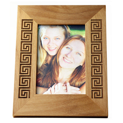 Greek Key picture frame