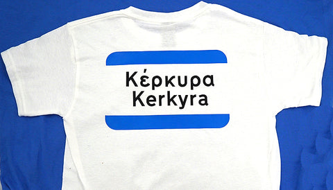 Any Greek Village 'City Limits' Greek T-shirt