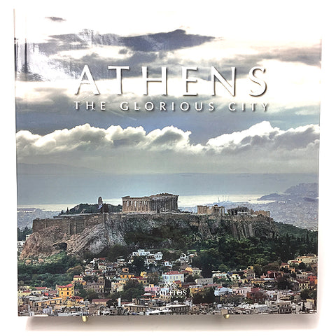 Athens book cover showing the hill where the Parthenon is situated.