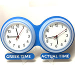 It's about (Greek) time