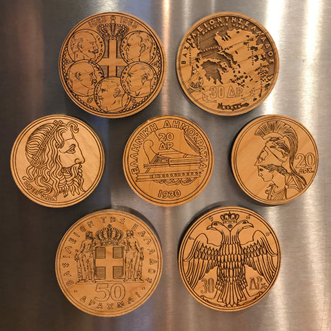 Drachma Magnets