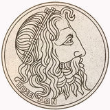 Drachma Medallion Decor