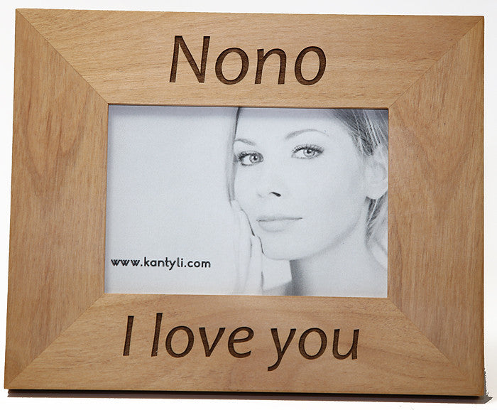 Nona and Nono (Godmother and Godfather) Greek Picture Frames – Kantyli