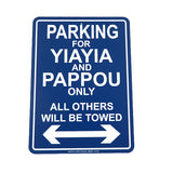 Parking For Grandparents Only