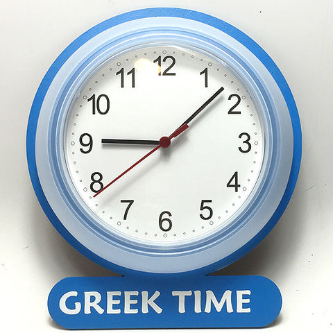 Greek Time Clock