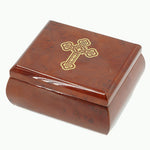 Greek Orthodox 'Christ Has Risen' Wind Up Music / Jewelry Box