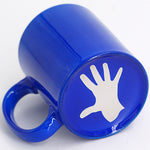 Mouzta (Greek Insult Hand) Coffee Mug