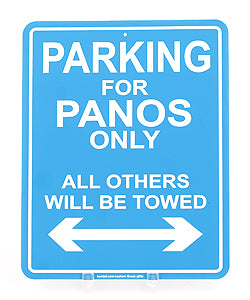 Greek Parking Sign For You